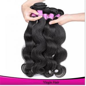 Buy cheap 100% Unprocessed Human Hair Natural Raw Virgin Braizlian Wavy Remy Hair product