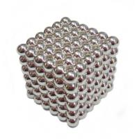 Buy cheap N35 round beads Neocube toys with silver product