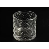Buy cheap Wedding Glass Candle Holder Decorations / Glass Candle Sleeve Glassware product