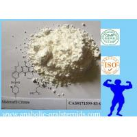 Buy cheap Male Sex Hormone Sildenafil Citrate / Viagra Male Sex Enhancing Drugs White Powder CAS 171599-83-0 product