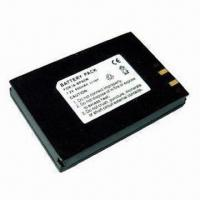 Buy cheap Li-ion Camera Battery for Canon with 3.6V DC Output Voltage and 550mAh Capacity product