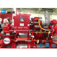 Buy cheap High Precision Diesel Engine Driven Fire Pump 1000 Gpm @ 70m Schools Use product