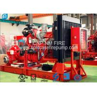 Buy cheap Diesel Engine Horizontal Split Case Pump 2000gpm@10bar With UL/FM Listed product