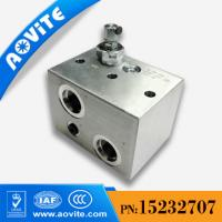 China TEREX TR100 HOIST MANIFOLD RELIEF VALVE 15232707 on sale