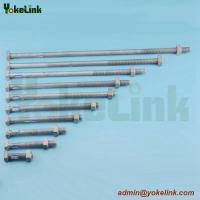 China High Quality Forged Steel ASME B18.2.6 square machine bolt for Pole Line Hardware on sale