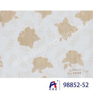 Buy cheap PVC  Coating  Film    PVC Decorative Film  98852-52  Chinese flowering crabapple 0.12-0.14mm product