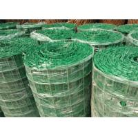 Buy cheap Green PVC Coated Welded Wire Mesh Panels / Plain Weave Mesh For Railings product