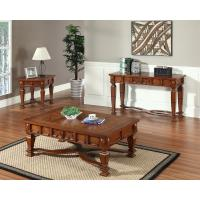 Buy cheap Solid Cheap Glass Coffee Table Wood Set product