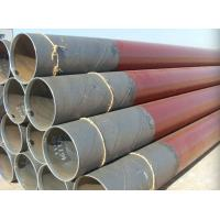 Buy cheap Double - Sided SSAW Steel Pipe API 5L X56 Spiral Submerged Arc Welded Pipe product