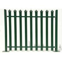 Buy cheap Durable W Section Green Palisade Fencing , Single Point Road Security Fence product