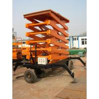 Buy cheap 1000kg hydraulic aerial working platform Scissor Lift for 12000mm working height product