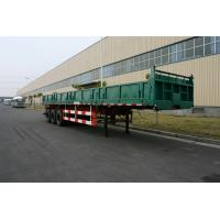 Buy cheap Commercial Side dump truck trailers with 3 Axles   product