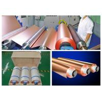 Buy cheap HTE RA PCB Copper Foil 76mm / 152mm Inter Dimater 0.009 - 0.09mm Thickness product