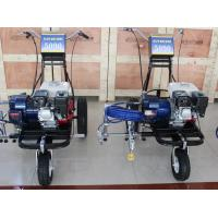 Quality Hand-Push Airless Spray Road Parking Lot Striping Machine With Honda Engine for sale