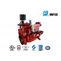 Buy cheap High Precision Fire Diesel Engine For Fire Fighting Pump 60 KW Red Color product