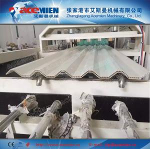 Buy cheap longue tuile de toit de la cavité vie-PVC faisant la machine product