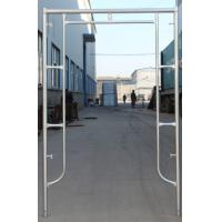Buy cheap Factory Supplying Q235 Pre-Galvanized Door Type of Frame Scaffold for Building Project product