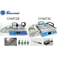 China Small Desktop CHMT28 / CHMT36 SMT LED Pick And Place Machine With Laser Positioning wholesale