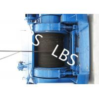 Quality Wire Rope Marine Windlass Winches Lifting Winch Hydraulic Tugger Winch for sale