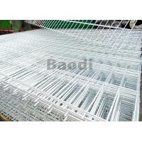 Electric Galvanized Welded Steel Mesh Panels Wires Resist Movement With Square Pattern