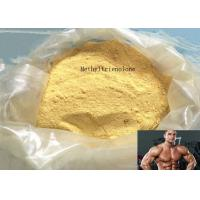Buy cheap Methyltrienolone Yellow Powder CAS 965-93-5 Trenbolone Steroid for Mucle Building product