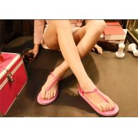 Buy cheap Pink Brown Fashion Flip Flops Fashion Espadrille Style Shoes Open Toe product