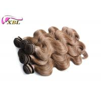 China Unprocessed Human Virgin Real Malaysian Human Hair Weave Color 6 Body Wave 18 Inches wholesale