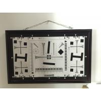 Buy cheap iso 12233 2000 lines cctv camera test chart resolution test chart on paper and glass (chrome print) 200mm*356mm 16:9 product