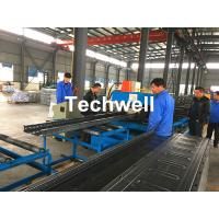 Buy cheap CT-600 Ladder Type Perforated Cable Tray Roll Forming Machine, Cable Tray Production Line product