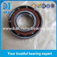 Buy cheap High Rigidity Small Angular Contact Bearings , ZZ 2RS Open Ball Bearings product