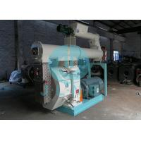 Buy cheap 90kw Cattle Animal Feed Pellet Machine 400mm Ring Die 50HZ ISO Approved product