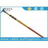 China Easy Maintenance Fiberglass Telescopic High Voltage Hot Stick With Length 3 - 12 Meters wholesale