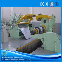 Buy cheap PLC Control Steel Slitting Machine First Garde 25 Strips Blue Colour CE product