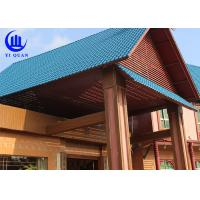 Buy cheap Lightweight  Spanish ASA Synthetic Resin Roof Tile Prefabricated Houses Excellent decay resistance product