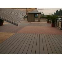 Buy cheap Solid Wood Plastic Decking Eco Friendly UV Proof WPC Composite Decking product