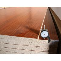 Buy cheap Commercial E1 Grade Laminated Particle Board For Interior Home Decoration 3-30mm product