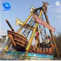 Buy cheap 32 Seats Pirate Ship Ride Customization Available With Music / Colorful Lights product