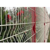 Buy cheap 3 D Welded Folding Wire Mesh Fence / Bending Garden Security Fencing product