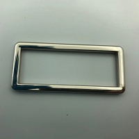 Buy cheap Silver Euro 57m X 25cm Backpack Metal Buckle For Bag Use product