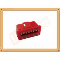 Buy cheap RED 16 Pin Obd Connector Replacement Obd Ii Connector CK-SOM002B product