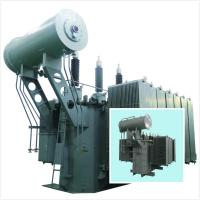 Economic Step Up And Step Down Transformer 35 KV - 10000 KVA Double Column Safety