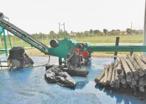 China Durable Wood Chipper Machines Make 20-30mm Wood Chips From Wood Logs And Wasted Wood on sale