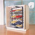 Buy cheap Modern Rotating Hanging Shoe Racks Storage, Metal Customized Revolving Shoe Rack product