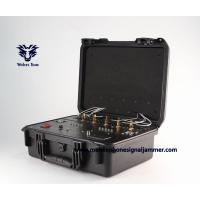 Buy cheap Waterproof  9 - 11 Outdoor channels  High power Mobile phone WIFI UHF VHF GPS Jammer product