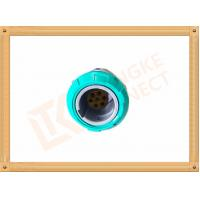Buy cheap 7 Pin Circular Plastic Push Pull Connector Adapter For Breathing Machine product