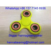 Buy cheap Low Price Hand Spinner / Tri Fidget Finger Toy with 608-2RS Ceramic Ball Bearings product