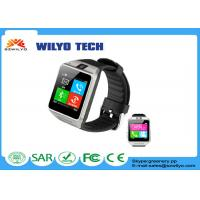 "Buy cheap Silver GV08 Bluetooth Smart Watches 1.54"" Touch Screen Gsm With 2Mp Camera product"