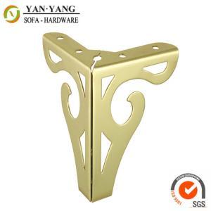 Buy cheap ног мебели 120мм ноги СЛ-086 софы металла цвета высоких лоснистых сияющих золотые product