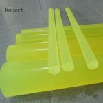Buy cheap High Intensity Polyurethane Rubber Products , Polyurethane Rubber Round Bar product