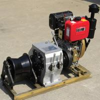 Buy cheap Small / Big Model Marine Winch Durable With 600KN~4500KN Drum Brake Load product